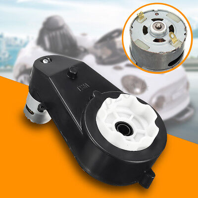 12V 23000 RPM Electric Motor Gear Box For Kids Ride On Car Bike Toy Spare Parts