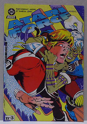 ➡ ATARI FORCE N° 3 ☆ AREDIT ☆ BE (Trace étiquette) ☰