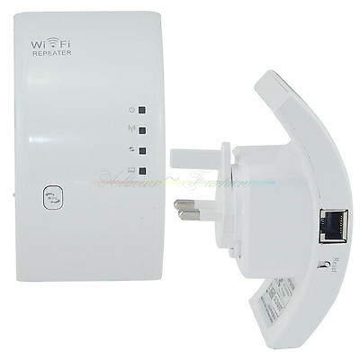Network Wifi Router Wireless Super Signal Repeater Extender Booster UK Plug