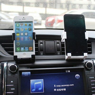 Car Air Vent Mount Cradle Holder Stand For Mobile Cell Phone GPS iPhone 6s Black