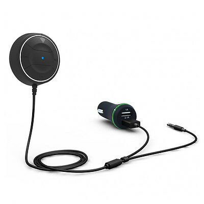 Bluetooth 4.0 Handsfree Car Kit Wireless Talking music Support NFC for Car WS