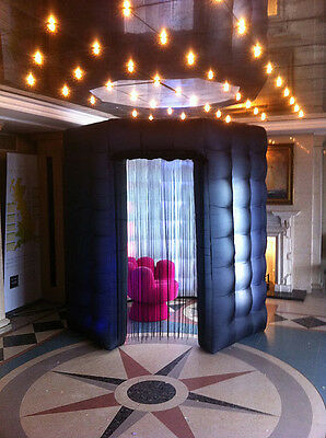 OCTAGON STYLE Inflatable Professional LED Photo Booth Tent - Weddings