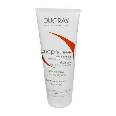 DUCRAY ANAPHASE STIMULATING SHAMPOO 200ml Anti-hair loss FREE SHIP ALL WORLD !!!