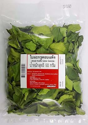 Kaffir Lime Sun Dried Leaves Thai Cooking Tom Yum Healthy Tea Free Shipped