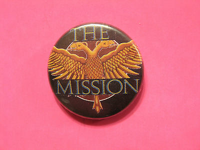 The Mission Vintage Button Pin Uk Import