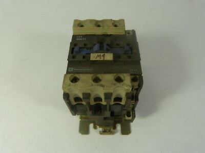 Telemecanique LC1-D4011-G6 Contactor 40Amp 3Pole 120V Coil  USED