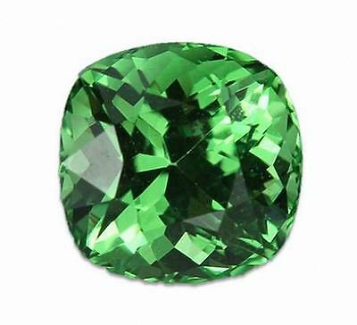 0.76 Carats Natural Merelani Mint Garnet Gemstone - Square Cushion