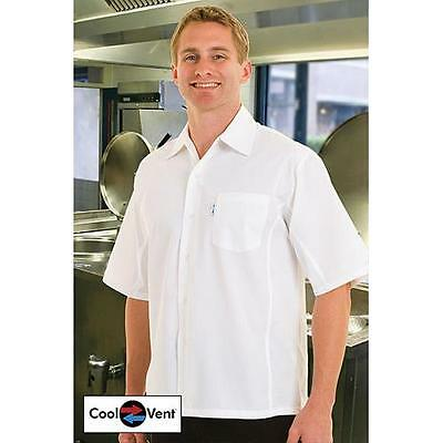 Chef Works Cool Vent Cook Shirt - White - All Sizes - CSCV-WHT
