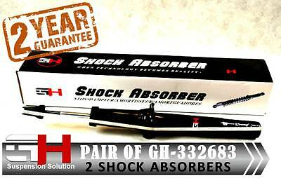 2 New Front Shock Absorbers Honda Accord Combi 2003-2008/Gh-332683K/