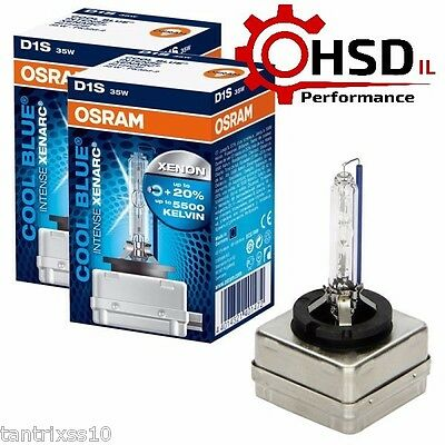 NEW OEM Osram D1S HID Replacement 2pcs Xenon 66144CBI 5500K XENARC HID headlight