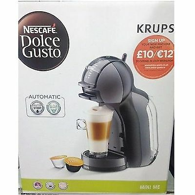 NESCAFE Dolce Gusto Mini Me Automatic Coffee Capsule Machine KP120840 by KRUPS