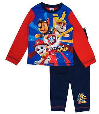 Boys Official Character Nick Jr Paw Patrol Thomas The Tank Pyjamas Pjs Age1-5Yrs