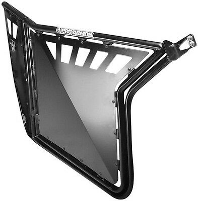 Pro Armor Suicide Doors w/ Cut Outs Black for Polaris Ranger RZR XP 900 LE 2011