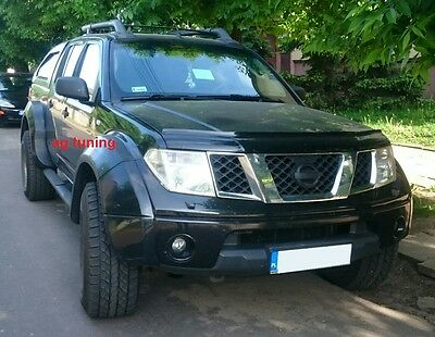 Nissan Navara D40 Fender Flares / Wheel Arch Extensions Great Look!!!