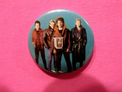 "Vintage U2 1"" Badge Button Pin Uk Import"