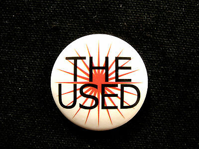 "The Used 1"" Button  Badge Pin  Uk Import"