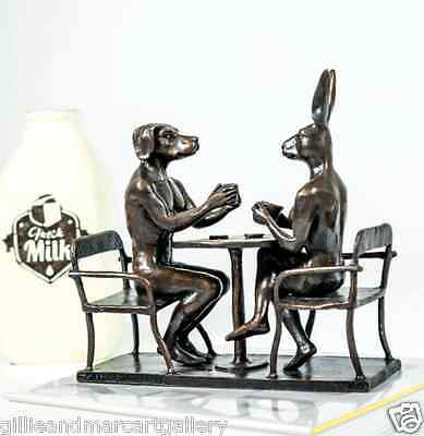 GILLIE AND MARC-direct from the artists-authentic bronze sculpture coffee table