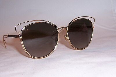 136579c690cf New Christian Dior Sideral 2/S Jb2-Ha Rose Gold/Brown Sunglasses Authentic
