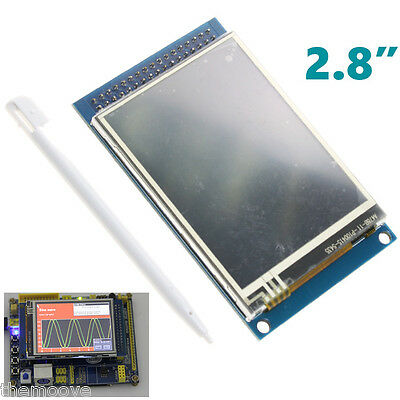 "240x320 SPI TFT LCD Touch Panel Serial Port Module 2.8"" With PCB LDGP453 5V/3.3V"