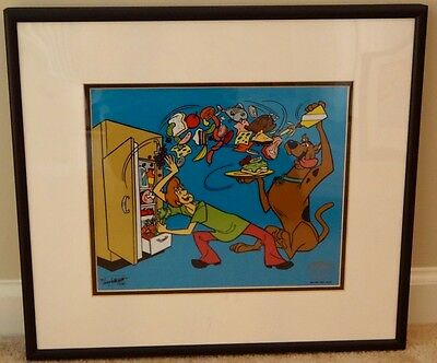 Hanna Barbera Scooby Doo Cel sericel SCOOBY'S HERO Animation cell