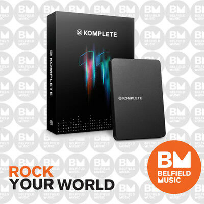 Native Instruments Komplete 11 Software Virtual Instrument Bundle