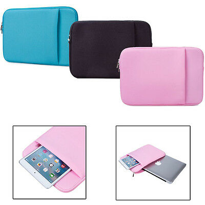 "11""-15.6"" Laptop sleeve carry bag Case pouch For Apple MacBook Air MacBook Pro"
