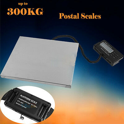 300KG Commercial Scales Digital Platform Packing Postal Scale Electronic Weight