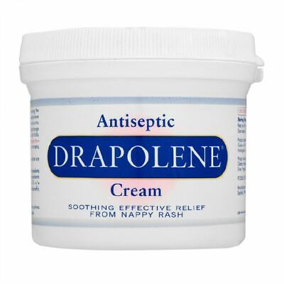 Drapolene Antiseptic Cream | Soothing Relief from Nappy Rash 350g - 3 Pack