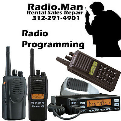PROGRAMMING SERVICE FOR Kenwood Business Radios - $24 95 | PicClick