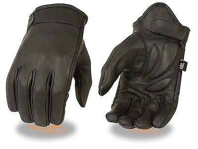 Cruiser Leather Motorcycle Motorbike Gloves CowHide Leather