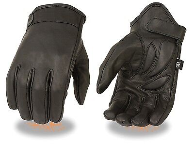 NEW  Summer  Premium  Leather Motorcycle Motorbike Gloves CowHide Leather