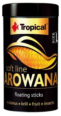 Tropical SUPER PREMIUM SOFT LINE Arowana Size L.