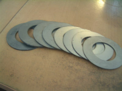 40mm id shim pack for excavator and digger pins etc (4x 1mm, 2x 2mm, 2x 3mm)