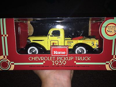 Home Hardware 1939 Pickup Truck Coin Bank. 1:25 Scale Ltd Edt Series 2 No. 5
