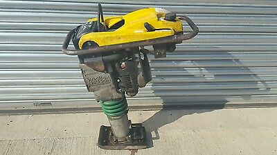 "Wacker Neuson Refurbished Trench Rammer Bs502 2010 Yr 8"" Jumping Jack Compactor"