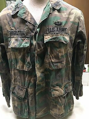 1978 US Military Special Forces Airborne Camouflage Shirt