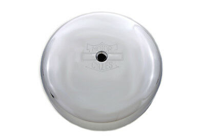"V-Twin 34-0743 - Chrome 7"" Round Air Cleaner Cover"