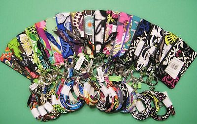*** New With Tag*** Vera Bradley Zip Id Case and Lanyard (Multi Color Available)