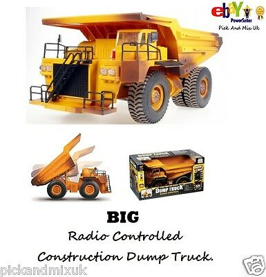 BIG Radio Controlled Construction Toy Dump Truck