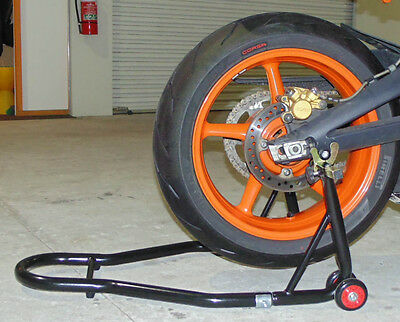 Heavy Duty Motorbike Bike Rear Wheel Paddock Stand,lift,stand,free Spools !