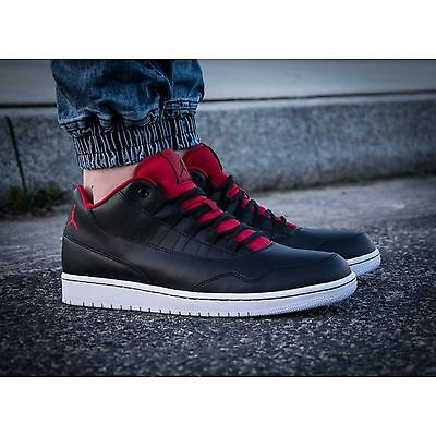 new style 22a37 1eb64 NEW Nike Air Jordan Executive Low Men s Shoes Black Red White 833913-001