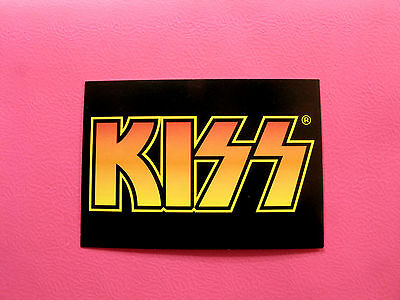 "New Official Kiss Postcard  ""logo"""