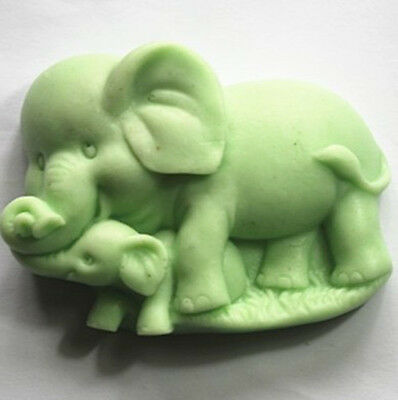 Elephant S348 Silicone Soap molds Craft Molds DIY Handmade soap mould