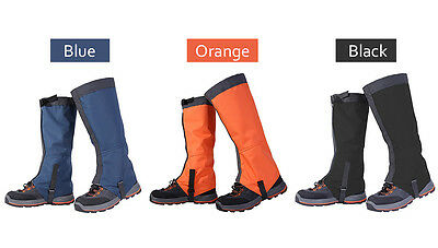 Waterproof Windproof Legging Gaiters Leg Cover Protection Hiking Climbing Latest