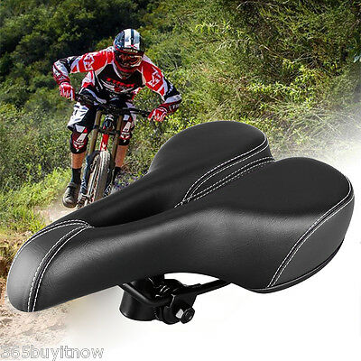 Bike Bicycle Cycling Seat Saddle Cover Comfort Padding Soft Gel Cushion Gym Pad