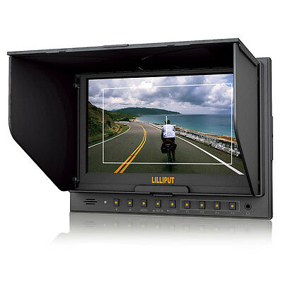 """Lilliput 7"""" 5D-II/O HDMI In&Out On Camera HD Field Monitor for Canon 5D Mark II"""