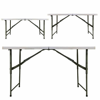 Redstone 4ft Folding Table - 3 x Adjustable Heights - (Damaged Stock)