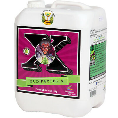 Advanced Nutrients Bud Factor X 1-5L Hydroponic Bloom Immune Response Booster