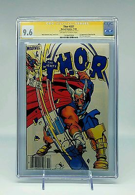 Thor #337 CGC SS 9.6 Signed By Walt Simonson! 1st Appearance of Beta Ray Bill!