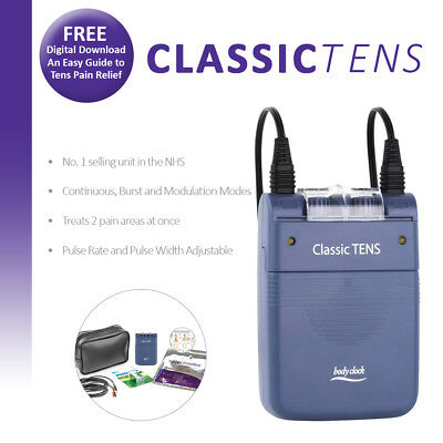 TENS Machine - No 1 TENS in the NHS - Classic TENS with Free Accessories